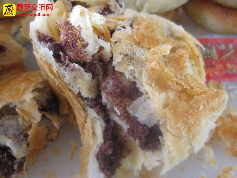 学员和本站学做的 酥饼  做的比较成功,有开店视频