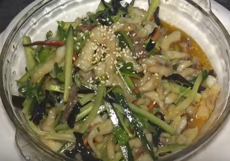 爽口鱼丝菜品