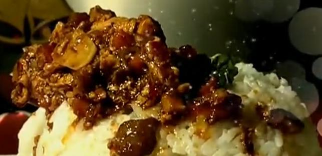 豆香鲜肉饭
