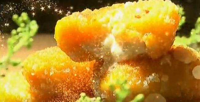 爆浆南瓜饼