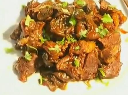 松蘑炖牛肉