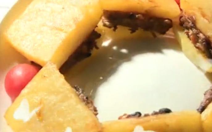 双料豆香饼