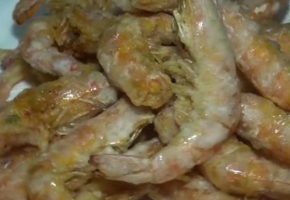 椒盐蒜香虾